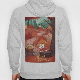Autumn time | Giadina and mushrooms Hoody