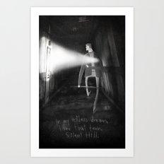 James Sunderland from Silent Hill 2 Art Print