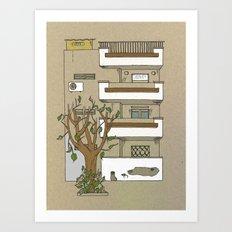 Building nr1 Art Print