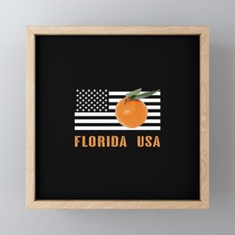 Florida Oranges Framed Mini Art Print