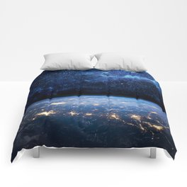 Earth and Galaxy Comforters