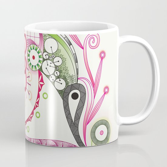 Autumn tangle Mug