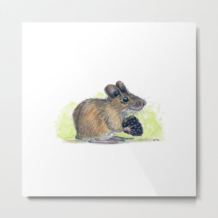 Field Mouse  Metal Print