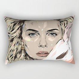 Charlize Theron Rectangular Pillow