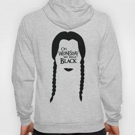 On Wednesday We Wear Black Hoody