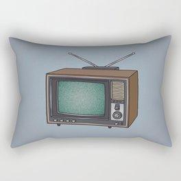 Television set TV Rectangular Pillow