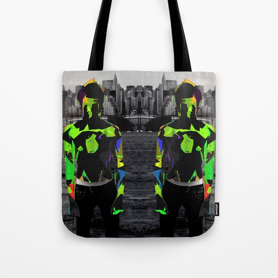 Boy Urban Tote Bag