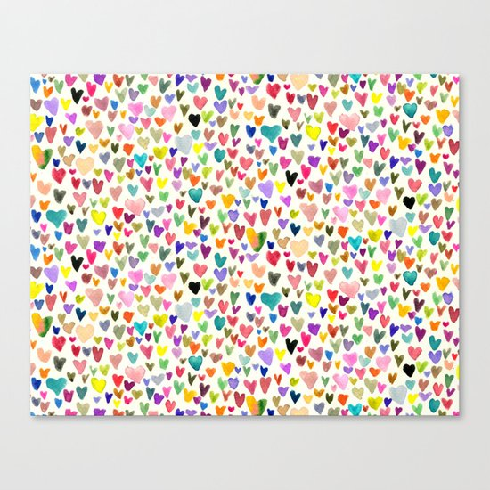 Love the world Canvas Print