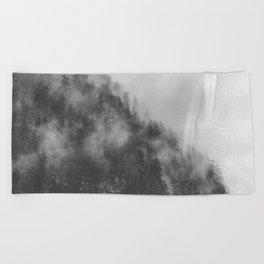 Moody clouds 3 Beach Towel