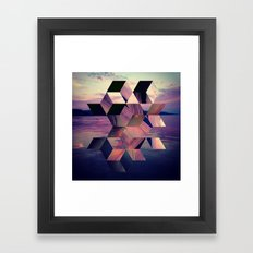 Remnants of the Day Framed Art Print