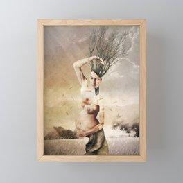 THE FOREST (II) Framed Mini Art Print