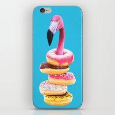 Famished Flamingo  iPhone & iPod Skin