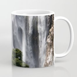 Milford Sounds Waterfall Coffee Mug