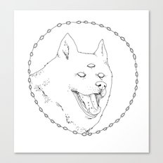 Visions dog Canvas Print