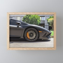 Sports Car Framed Mini Art Print