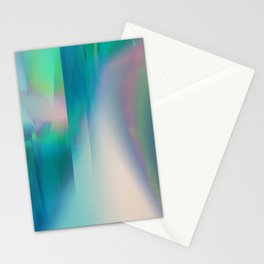Pacifica glitch Stationery Cards