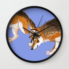 Totem Italian wolf (italicus) Wall Clock