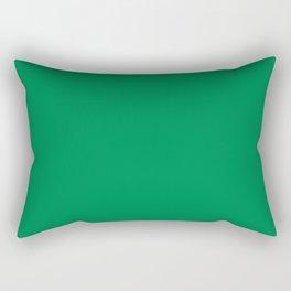 Emerald Green Rectangular Pillow