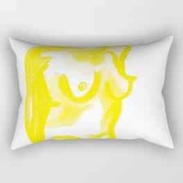 The Construct of Gender Rectangular Pillow