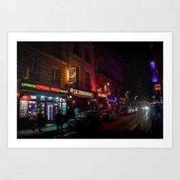 Goodnight, Paris Art Print