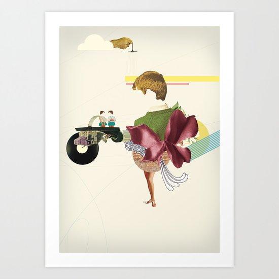 UNTITLED #3 Art Print