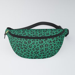 LEOPARD PRINT in GREEN | Collection : Leopard spots – Punk Rock Animal Print Fanny Pack