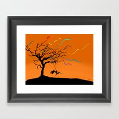 Among the Winds Framed Art Print