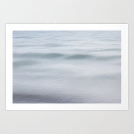 The Ocean wave Art Print