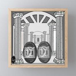 Necropolis Coins Palladium and Platinum 2 Framed Mini Art Print