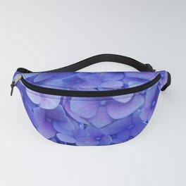 Hydrangea blue Fanny Pack