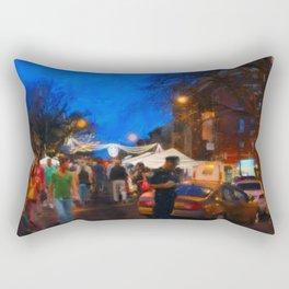 Arthur Avenue, The Bronx Rectangular Pillow