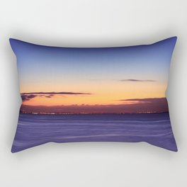Twilight to Sunrise Rectangular Pillow