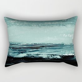 abstract minimalist landscape 4 Rectangular Pillow