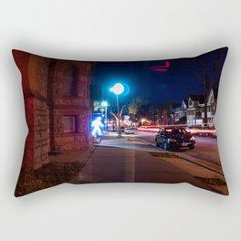 Walking Out Rectangular Pillow
