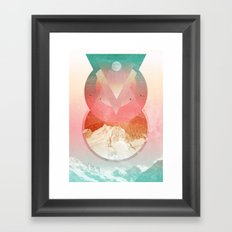Emigrate Framed Art Print