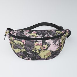 Social French Bulldog Fanny Pack