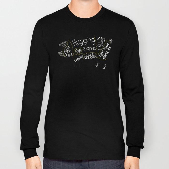 Cuts of Pig Long Sleeve T-shirt