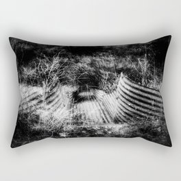 Creepy Runoff Drain Rectangular Pillow