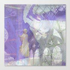 Memories of Salisbury (cropped) Canvas Print
