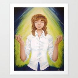 The Sinner's Prayer Art Print