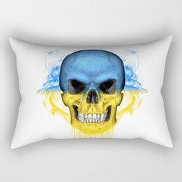 To The Core Collection: Ukraine Rectangular Pillow