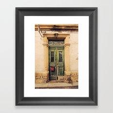 Nicosia Doorway Framed Art Print