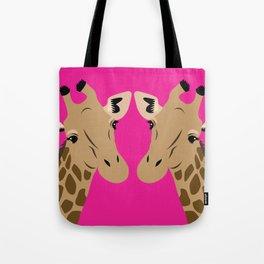 Happy Giraffes Tote Bag