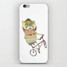 Biking, bike, bikes, biker, bear,  iPhone & iPod Skin