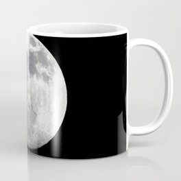 Watercolor Nightscape, Middletown 02, Maryland, Stark Contrast Coffee Mug