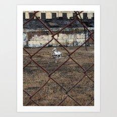 The Silver Hobby Horse 4 Art Print
