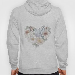 bird of paradise , paradisebirds , simple floral graphic design , gift for gardener Hoody