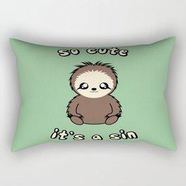 So Cute It's A Sin Rectangular Pillow