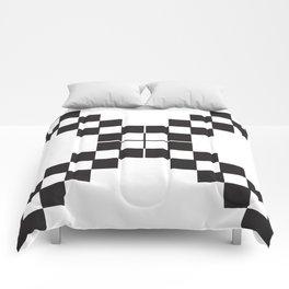 Checkerboard X Comforters