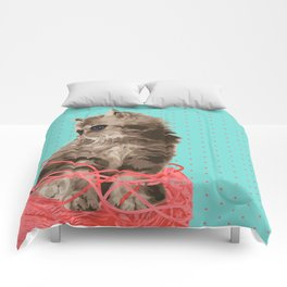 Messy Lil Cat Comforters
